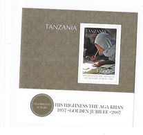Tanzania 2007 Reign Of Aga Khan 50th Anniversary S/S MNH - Tanzania (1964-...)