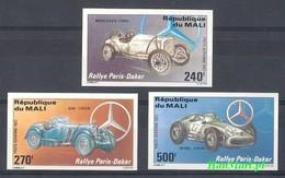 Mali 1983 MNH ( ZS5 MLI972-974B ) - Voitures