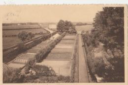 Fleurus ,  Institut Episcopal St-Victor ,Vue Du Jardin Potager  , Installations Horticoles - Fleurus
