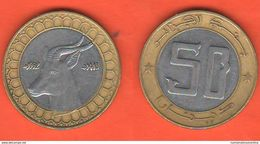 Algeria 50 Dinari 1992 AH 1413  Algerie - Algeria