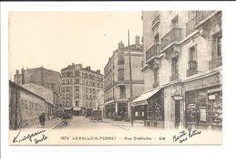 DEP. 92 LEVALLOIS-PERRET N°1672 RUE GREFFULHE Hôtel Chalembel, Charcuterie, Herboristerie Guizelin, Postes, Automobile - Levallois Perret