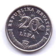 HRVATSKA 2019: 20 Lipa, KM 7 - Croatia