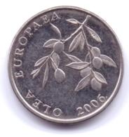 HRVATSKA 2006: 20 Lipa, KM 17 - Croatia