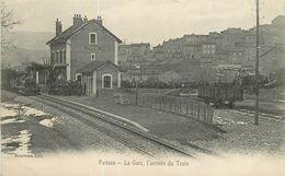 13 CPA FUVEAU - La Gare - L' Arrivée Du Train - Otros Municipios