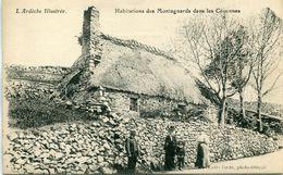 - 07 -ARDECHE- Habitations Des Montagnards Dans Les Cevennes - Otros Municipios