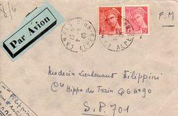 C4 1940 Lettre  Pour SP 701 - Postmark Collection (Covers)