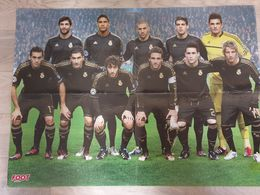 Poster Recto-verso Foot équipe Du Real De Madrid - Ronaldo - Foot 100% Clubs - Fussball