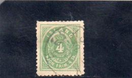 ISLANDE 1873 O DENT 12.5 - Dienstpost