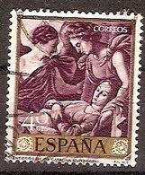 ESPAÑA SEGUNDO CENTENARIO USADO Nº 1418 (0) 25C CASTAÑO ZURBARAN - 1931-Oggi: 2. Rep. - ... Juan Carlos I