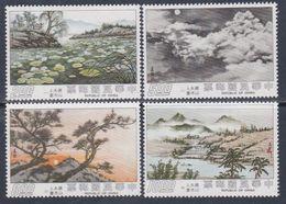Taiwan N° 1038 / 41 XX Peintures De Madame Tchang Kaï-Chek La Série Des 4 Valeurs Sans Charnière, TB - 1945-... Republic Of China