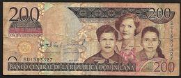 """200 Pesos Oro   """"République Domicaine"""" 2007          Ble18 - República Dominicana"""