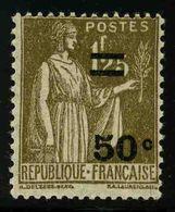 FRANCE - YT 298 * - TYPE PAIX - 1 TIMBRE NEUF * - 1932-39 Paz