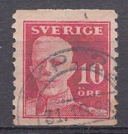 Suède 1920  Mi.Nr.: 127  König Gustaf V   Oblitérés / Used / Gestempeld - Gebraucht