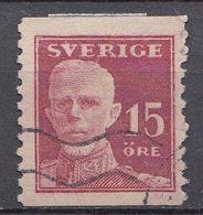 Suède 1920  Mi.Nr.: 128   König Gustaf V   Oblitérés / Used / Gestempeld - Gebraucht