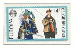 [152031]SUP//**/Mnh-N° 2007, EUROPA-CEPT 1981, Folklore, Marionnettes, D'Artagnan Et Woltje, SNC - Belgique