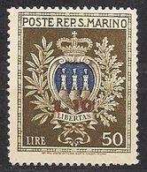 Saint-Marin San Marino 1946 Yvertn° 277 *** MNH Cote 45 € - Saint-Marin