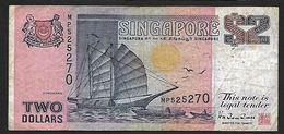 "2 Dollars ""SINGAPOUR""       Ro15 - Singapour"