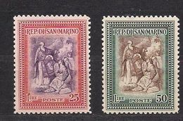 Saint-Marin San Marino 1947 Yvertn° 294-295 *** MNH Cote 48,80 € - Nuevos