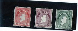 CG44 - 1922/3  Irlanda - Mappa - 1922-37 Stato Libero D'Irlanda