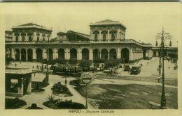 NAPOLI - STAZIONE CENTRALE - EDIZIONE STABILIMENTO PEZZINI - 1920s ( BG4552) - Napoli