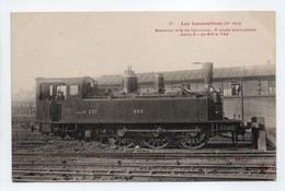- CPA LES LOCOMOTIVES (Cie Est) - Machine Dite De Banlieue, 6 Roues Accouplées, Série 8, De 613 à 742 - - Trains