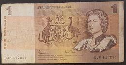 RS - Australia 1 Dinar Banknote 1983 #DJP 657891 P.24d - 1974-94 Australia Reserve Bank (papier)