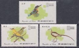 Taiwan N° 1106 / 08 XX Oiseaux De Taiwan, Les 3 Valeurs Sans Charnière, TB - 1945-... Republic Of China