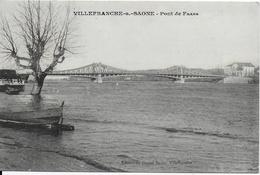 Villefranche Sur Saône - Pont De Frans - Villefranche-sur-Saone