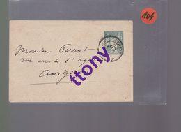 2  Entier Postal 5c Vert    Type Sage   Sur Une Enveloppe   Pas De Courrier  Destination Avignon  Autre Vierge - Enteros Postales
