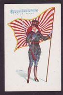 CPA Drapeau Sager Xavier Femme Girl Woman Non Circulé - Sager, Xavier