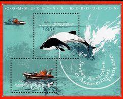 TAAF - 2020 - Zodiac Natural Reserve - Mint Souvenir Sheet - Ungebraucht