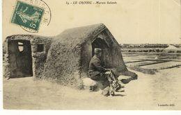 Le Croisic Marais Salants Douanier Gabelou Salorge 1910 - Le Croisic
