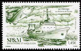 St. Pierre & Miquelon - 2020 - Fishing Boats - Le Vikings - Mint Stamp - St.Pierre & Miquelon