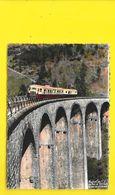 Autorail Au Pont Du Malheur (Roche) Ardèche (07) - Saint Agrève