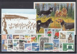 Finland 1989 - Full Year MNH ** - Finland