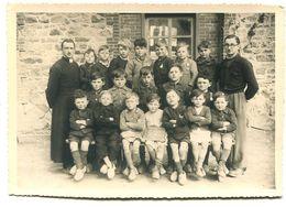 Photographie Privée Ecole Saint-Joseph Hillion 1945 - Anonyme Personen