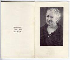 Doodsprentje VROUW FEMME BARONES M.A.A.G.H.J De TURCK De KERSBEEK °1883 WONDELGEM +1974 IZEGEM // GILLÈS De PÉLICHY - Andachtsbilder