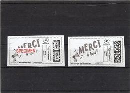 France;Covid 19,coronavirus, Timbre Et Spécimen Neufs - Stamp And Specimen - 2010-... Illustrated Franking Labels
