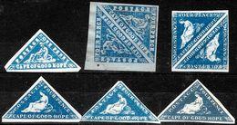 746 - COGH - CAPE OF GOOD HOPE - 1853-61 - FORGERIES, FALSES, FALSCHEN, FAKES, FALSOS - Collezioni (senza Album)