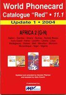WORLD PHONECARD-RED-11.1 AFRICA 2 (G-N) - Schede Telefoniche