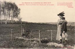 GUERRE 1914- 1918  WW1  LAMATH  Tombe De Soldats Du 6° Alpins Près Du Cimetière  ... - Guerre 1914-18