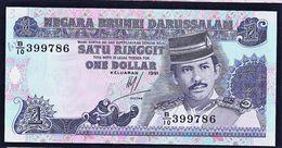 """1 Dollar    """"BRUNEI""""        1991      UNC    BC73 - Brunei"""