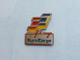 Pin's EUROCARGO, FIL ROUGE - TGV