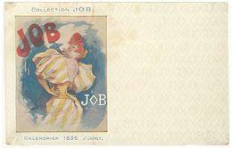 Cpa Signée Chéret , Collection JOB, Calendrier 1896 - Chéret