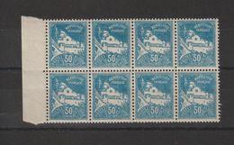 Algérie 1926 Vues D'Alger 47 En Bloc De 8 ** MNH - Nuevos