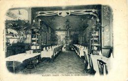 N°1422 R -cpa Paris -restaurant Maxim's -un Salon Du Rez De Chaussée- - Hotels & Gaststätten