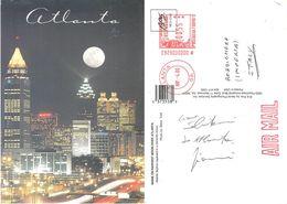 Shine On Arvest Moon Over Atlanta. Viaggiata 2000 - Atlanta