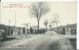BRUYERES - Entrée Du Quartier De L'infanterie - Bruyeres
