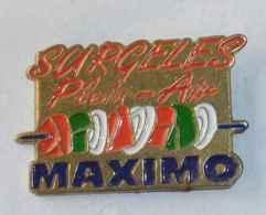 Pin's SURGELES PLAIN AIR MAXIMO - Alimentation