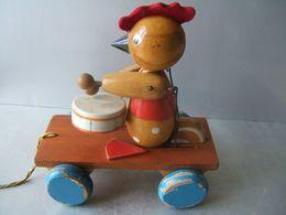 Coq Musicien (jouet à Tirer ) - Toy Memorabilia